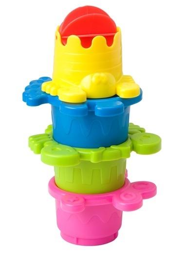 Alex 836W 8 Adet Kupa Banyoda Sayılar Çocuk Oyuncak Renkli